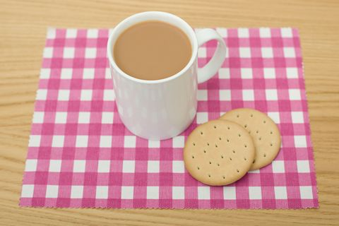 cup of tea and biscuits