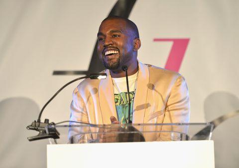 Kanye West at the LA Fashion Awards