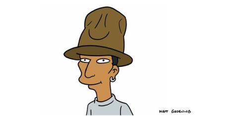 Pharrell Williams in The Simpsons