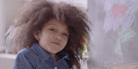 The Dove 'Love Your Curls' campaign