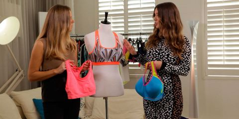 Taylor Anderson and Jess Edwards from Cosmopolitan talk gym fashion on the Cosmo Body Show