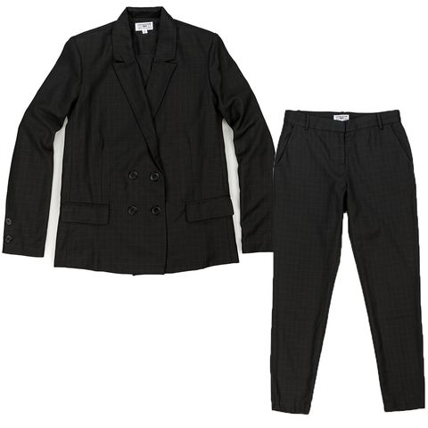 Product, Sleeve, Collar, Textile, White, Denim, Fashion, Pocket, Black, Pattern,