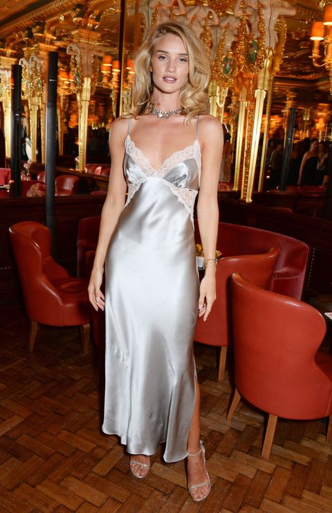 Rosie Huntington-Whiteley wore a nightie to her perfume launch and it looked incredible
