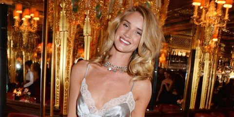 Rosie Huntington-Whiteley gave us hair envy at her fragrance launch