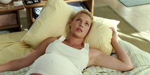 Katherine Heigl pregnant in Knocked Up