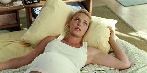 Katherine Heigl pregnant in Knocked Up