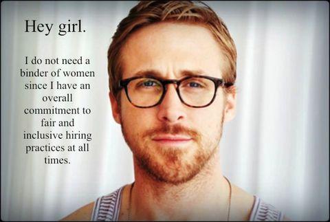 Ryan Gosling memes are good news for feminism