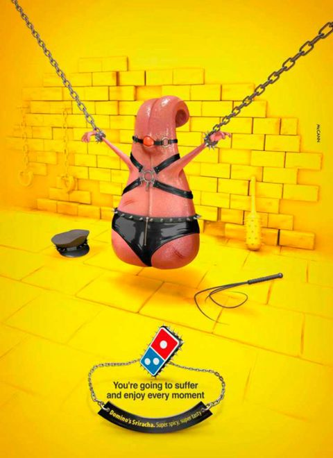 Domino's new pizza advert will leave you actually speechless