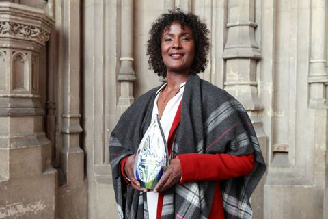 Waris Dirie receives a Liberal International Prize for Freedom