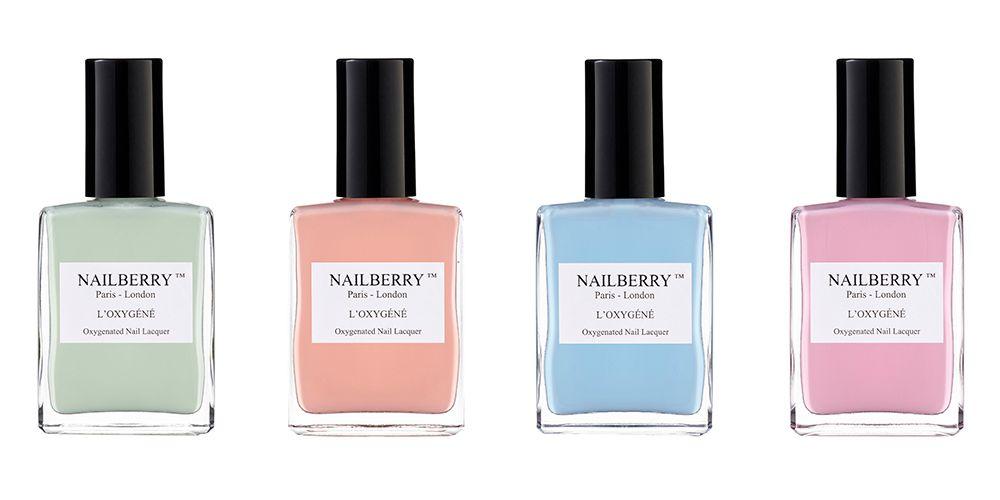 Breathable nail polish, 5-free formula