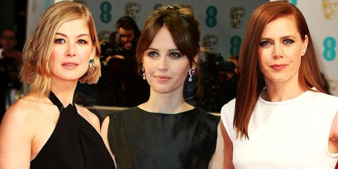 Baftas 2015: all the best celebrity dresses from the red carpet