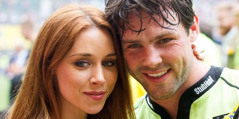 The Saturdays' Una and husband Ben Foden welcome a baby boy!