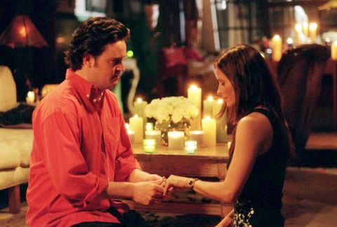 The One With The Proposal - Chandler proposing to Monica - Friends