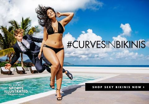 f32bdf8fb8d91 Sports Illustrated s swimsuit issue to feature size 16 model for the first  time. Gorgeous ...