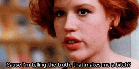 truth honesty breakfast club gif still