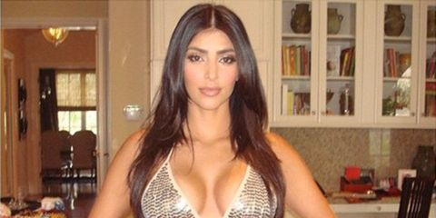 Kim Kardashian's throwback picture proves she's been posing in bikinis for YEARS