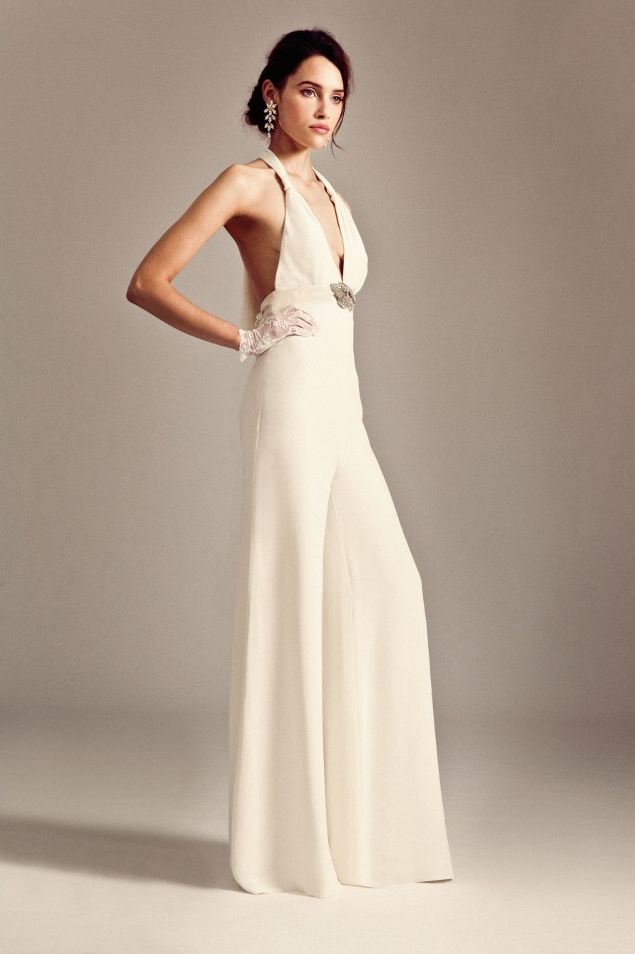the best bridal jumpsuits for alternative wedding inspiration