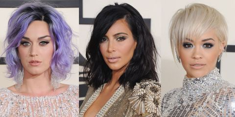 Grammys 2015 hair and makeup trends