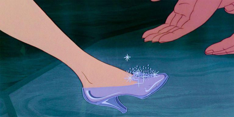 Image result for cinderella glass slipper