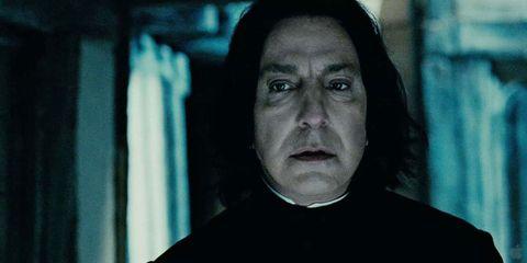 Snape's Harry Potter scenes in chronological order will break your heart