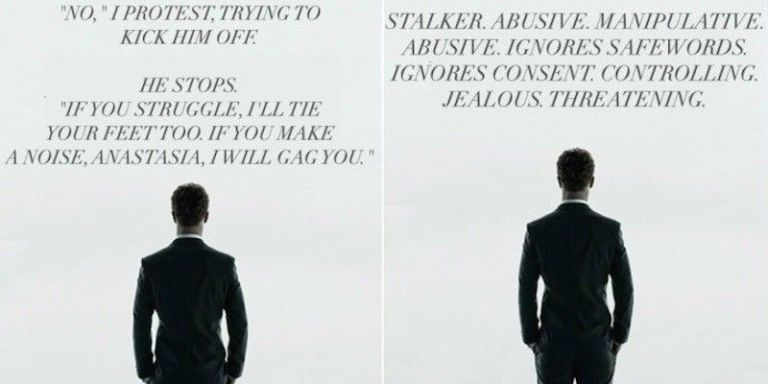 Sexual quotes from 50 shades of gray