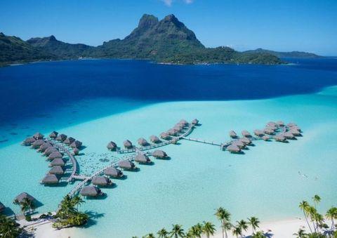 Bora Bora, it's quite nice