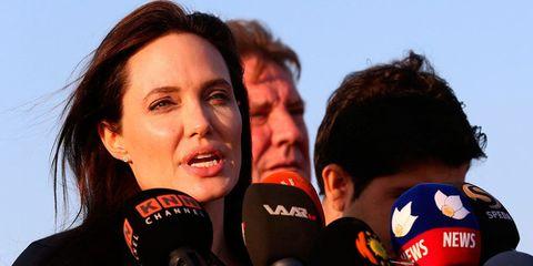 Angelina Jolie on 25 Jan 2015