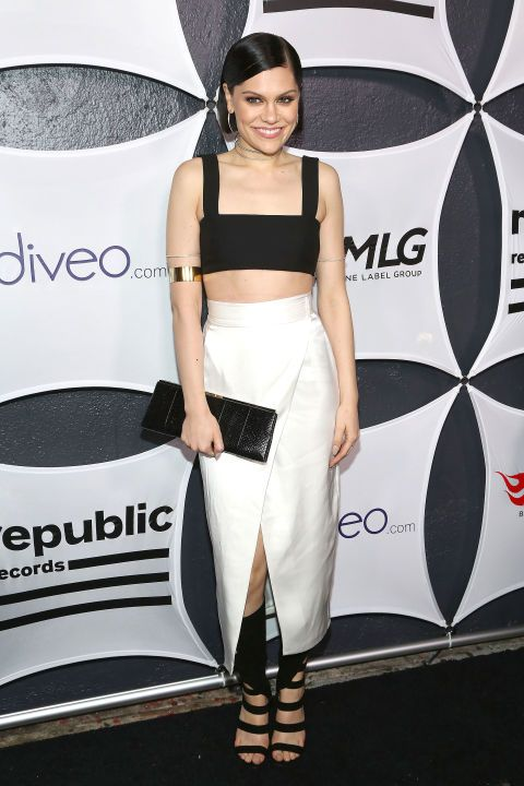 Jessie J at the Grammys afterparty