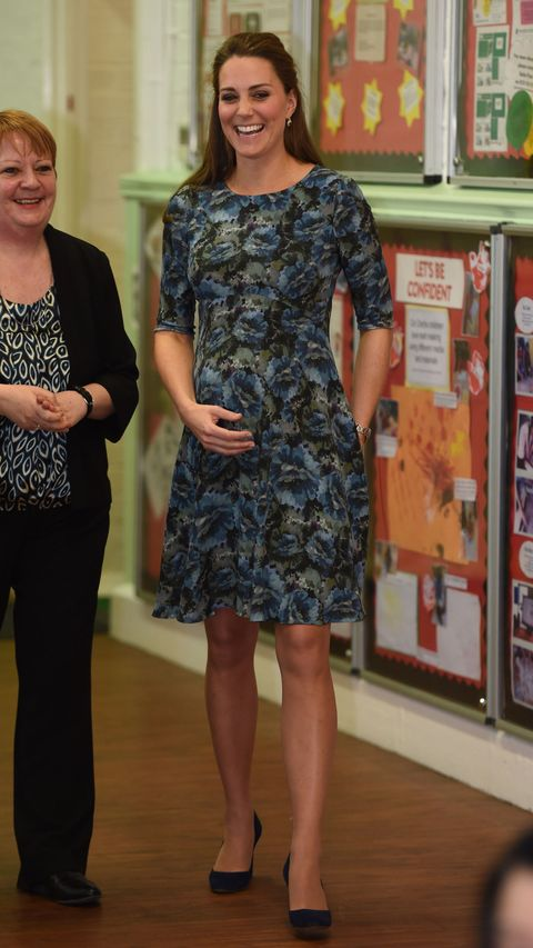 Kate Middleton looks blooming in this gorgeous floral dress