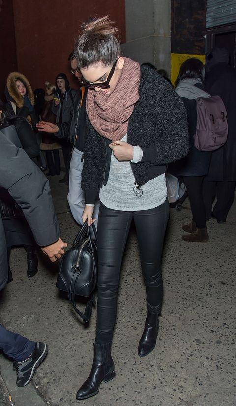 Kendall Jenner at New York Fashion Week