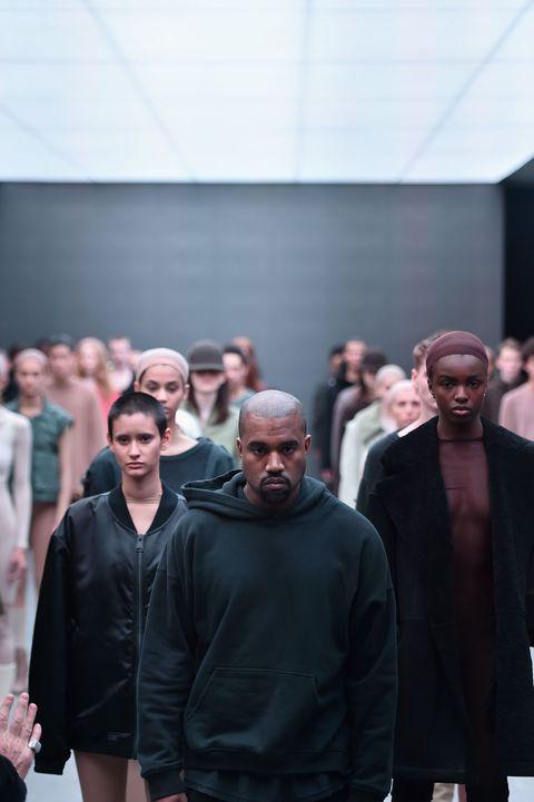 Kanye West Adidas New York Fashion Week show