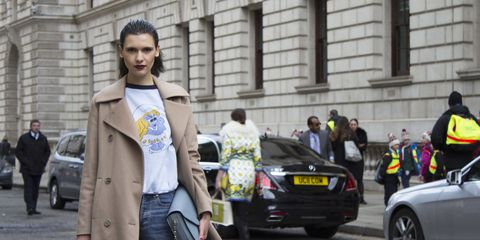 Street Style at London Fashion Week for AW15 season