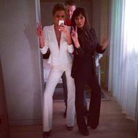 Celebrities wearing suits - Millie Mackintosh