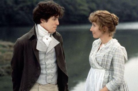 Hugh Grant and Emma Thompson in Sense and Sensibility
