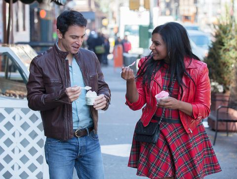 Mindy and Danny go on a date on The Mindy Project