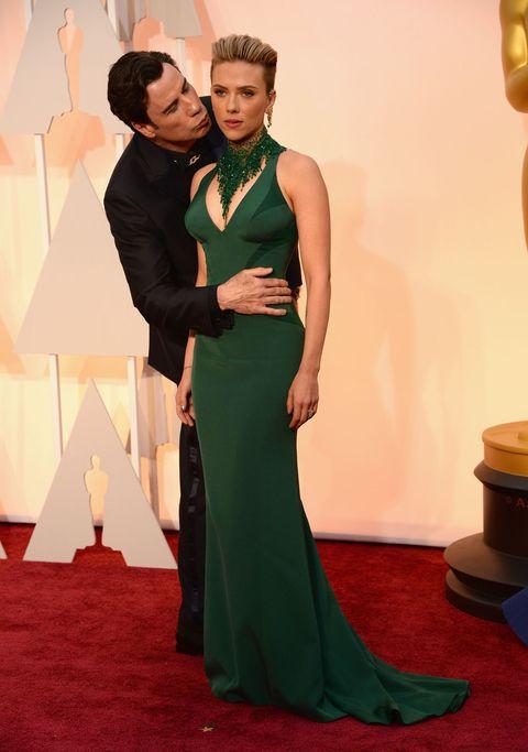 Scarlett Johansson FINALLY explains John Travolta's awkward