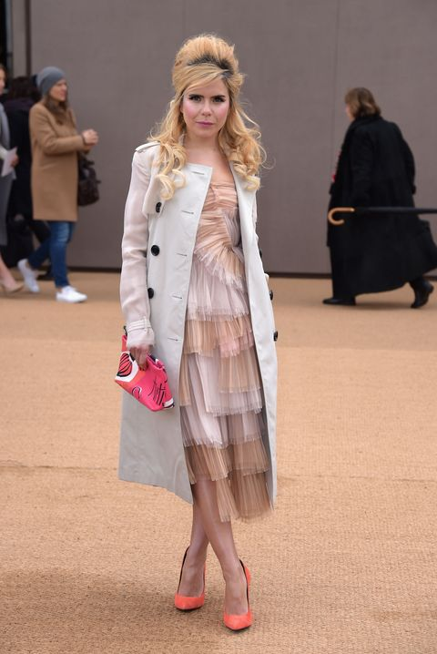 London Fashion Week AW15: what the celebrities are wearing on the front row - Paloma Faith