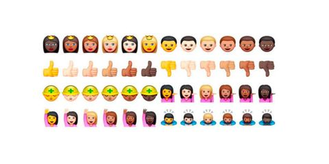 Racially diverse emojis will soon be coming to a keyboard