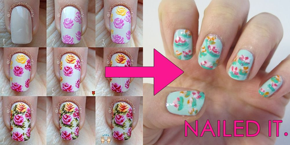 Can the amazing nail tutorials of pinterest be done by a normal can the amazing nail tutorials of pinterest be done by a normal person prinsesfo Gallery