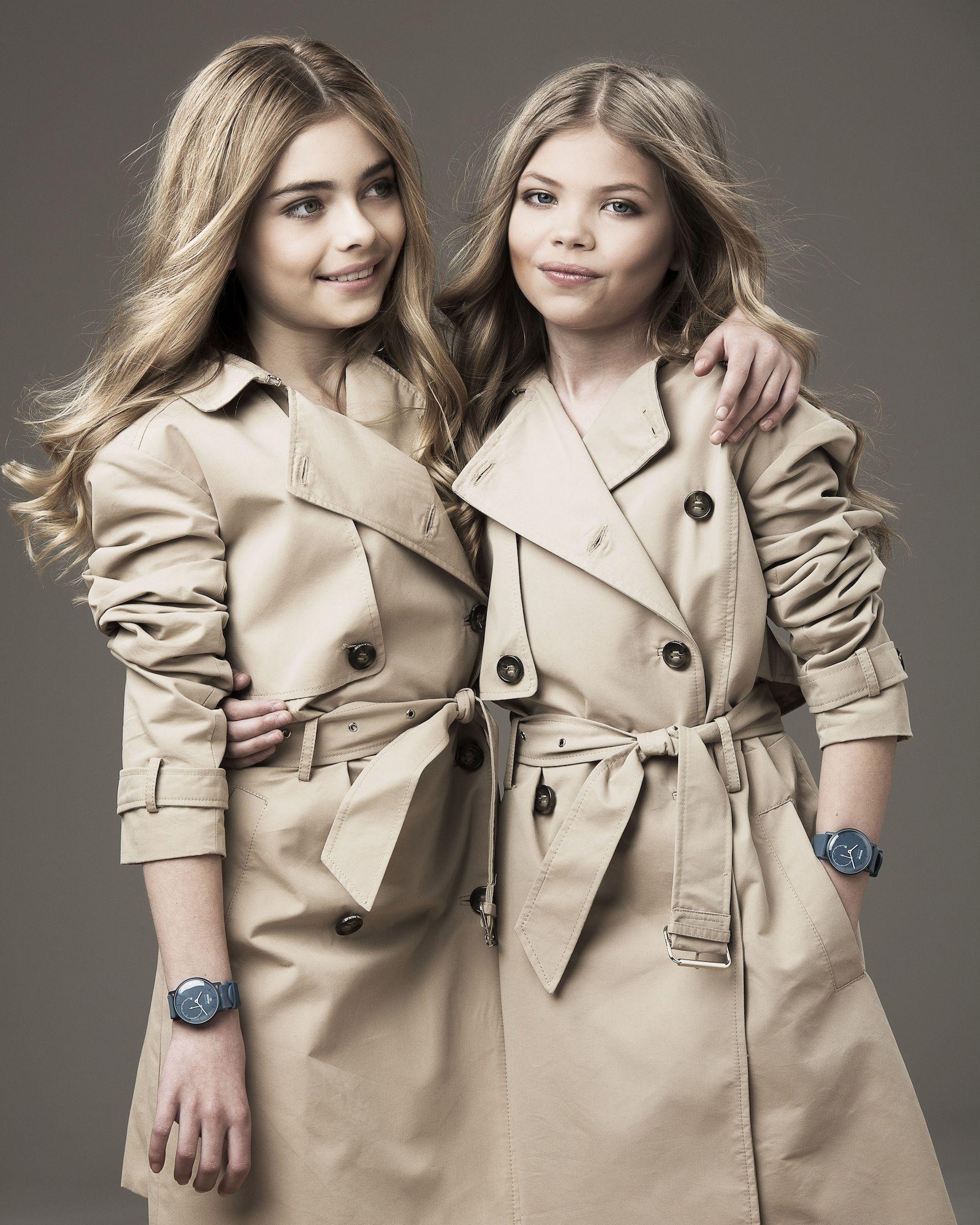 f93da5e2b787 Models Kate Moss and Cara Delevingne have a mini-me makeover
