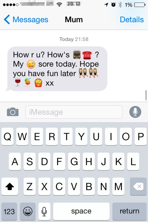 14 texts you only get from your mum. Black Bedroom Furniture Sets. Home Design Ideas
