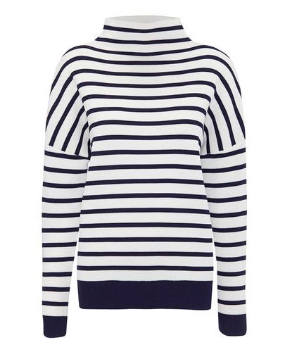Blue, Product, Sleeve, Shoulder, White, Style, Pattern, Electric blue, Neck, Black,