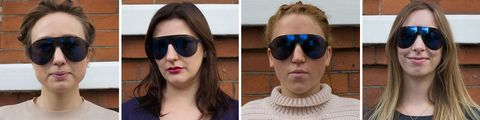 Best sunglasses for different face shapes: sporty