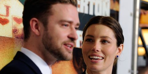 Justin Timberlake just posted the most ADORABLE message to Jessica Biel