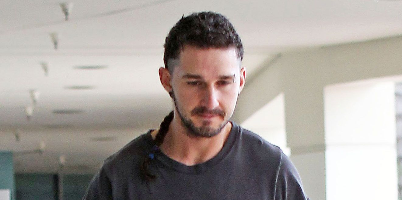 Shia Labeouf Debuts Rattail Hair Extension But Why