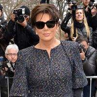 Kris Jenner at Paris Fashion Week