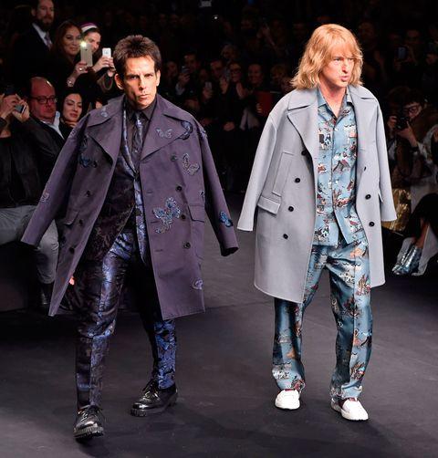 Zoolander just walked the runway for Valentino at Paris Fashion Week