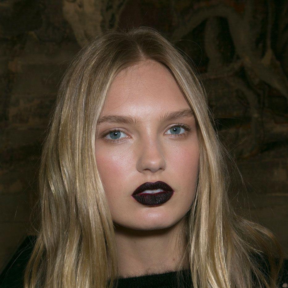 Emanuel Ungaro AW15 beauty trends