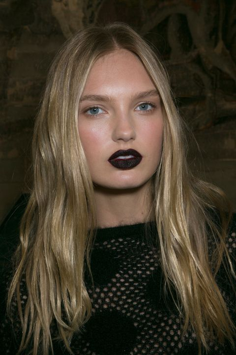 Emanuel Ungaro AW15 beauty trends