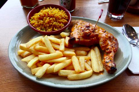 Nando's chicken meal
